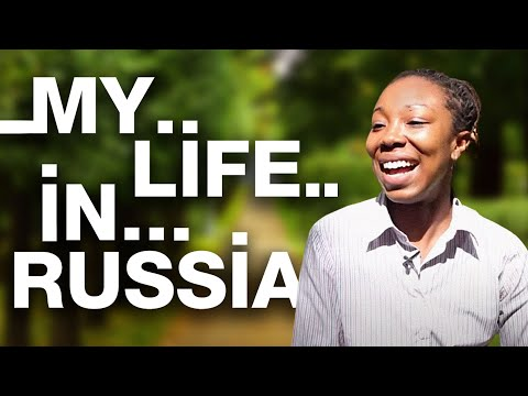 My Life in Russia: Imanni Burg from Pennsylvania, USA