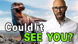 Is It True the T-Rex Couldn't See You If You Didn't Move?