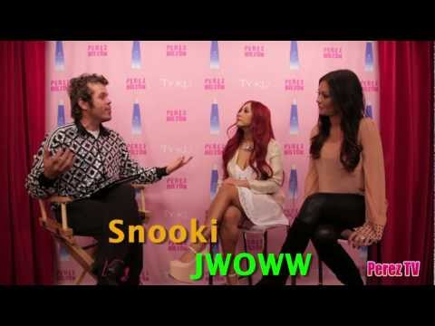 Snooki & Jwoww Interviewed By Perez Hilton!