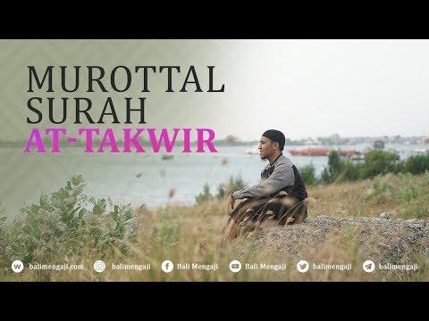 Murottal Surah At-Takwir - Mashudi Malik Bin Maliki