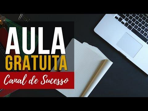 Aula Gratuita - Como Criar um Canal de Sucesso no Youtube thumbnail