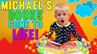 Michael's Story Time Comes to Life! PLUS GIVEAWAY!!!  -  Family Fun Pack