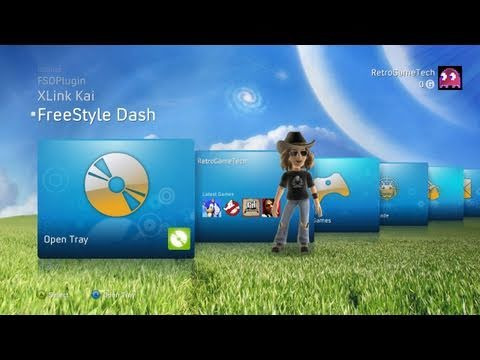 FreeStyle 2.0 RC1 - Homebrew NXE Dash For JTAG Hacked Xbox 360 - Overview