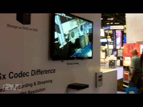 InfoComm 2013: RGB Demos the DSx Codec Difference