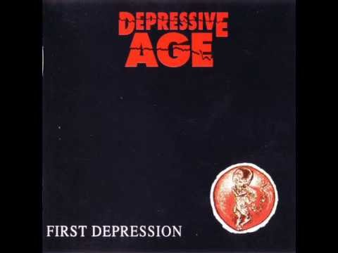 Depressive Age - Circles Colour Red