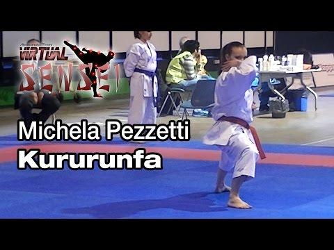 Michela Pezzetti – Kata Kururunfa – Italian Kata Championships Ostia 2014