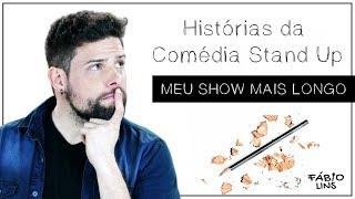 Escola da Comédia - Histórias da Comédia Stand Up - Show mais longo