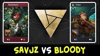 Savjz vs Bloody — Artifact First open tournament
