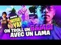 ON TROLL UN BAMBI AVEC UN LAMA | TRIO VS SQUAD | 31 KILLS