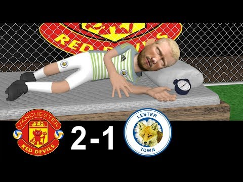 Manchester United Vs Leicester City 2-1 | Parody Goals | 10/08/2018 | #OldTrafford thumbnail