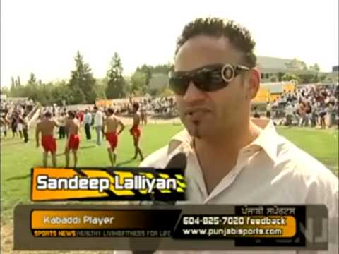 Kabaddi Super Star Sandeep Lallian