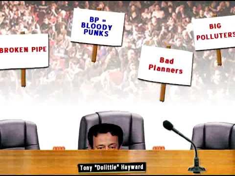 BP Oil Spill - Funny - Tony Hayward British Petroleum Gulf SNL skit