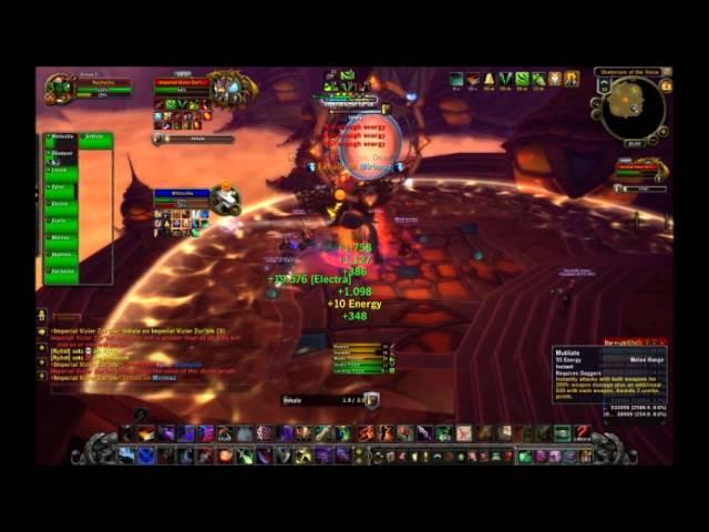 P R I M E - Group 2: Imperial Vizier Zor'lok 10 man Normal