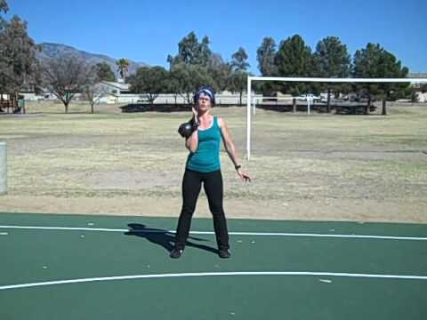 Kettlebell Clean & Press Exercise Demo Image 1