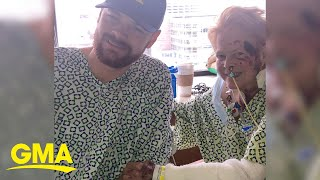 Man gives girlfriend's grandma the gift of life through liver transplant l GMA Digital