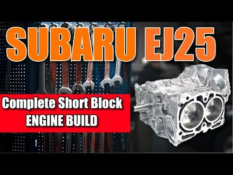 Subaru STI Short Block Assembly