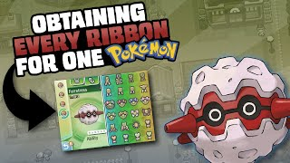 HOW EASILY CAN YOU GET EVERY RIBBON ON A SINGLE POKEMON?