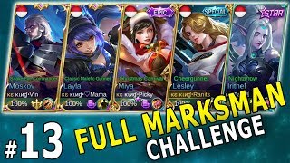 FULL MARKSMAN - PADA MUKIL SEMUA (Early Game) - Mobile Legends Indonesia Part 13