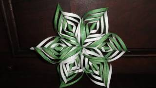 Lacy Paper Snowflake Decoration