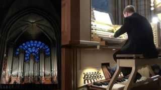 Johann Vexo aux Grandes Orgues Notre-Dame-de-Paris Interlude improvisé II