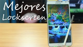 13 Mejores Lockscreen Para Android 2015  Tu Android Personal