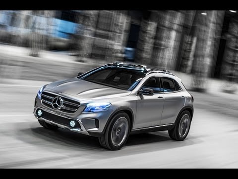 Mercedes GLA Concept SUV secrets revealed - autocar.co.uk
