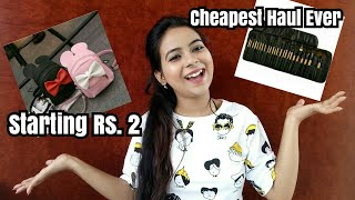 Sell At Cost Haul Starting rs. 2 || Everything You Need To Know ||  Unbelievably Cheap
