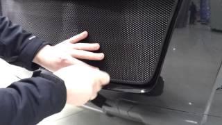Видео: Установка защиты радиатора Hover H3 черная