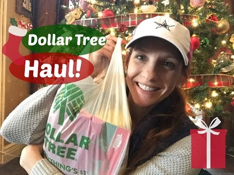 DOLLAR TREE HAUL!!!! | DECEMBER 2015 + Sticker Giveaway!