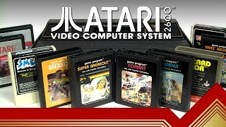Atari 2600 Video Computer System (VCS) // Retro History
