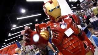 WonderCon 2013 Cosplayers Anaheim Convention Center (HD)
