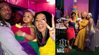 Offset & Cardi B Hosts Daughter Kulture 1st B-Day Party During NYC Blackout!