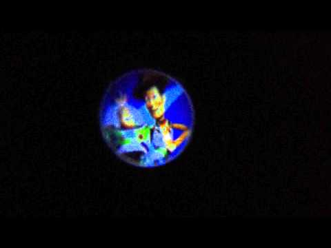 reloj proyector de imagenes toy story 3