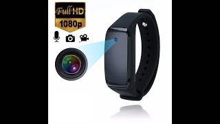 The Bracelet Wristband Spy HD Video Camera Instruc