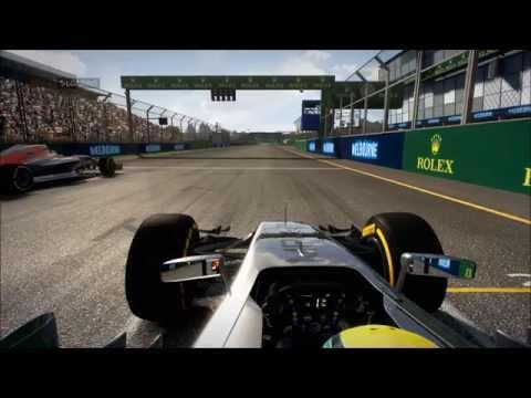 F1 2014 Sprint lobby MADNESS - Australia awkwardness