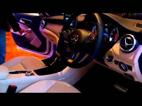 Mercedes-Benz CLA-Class 2015 India Showcase