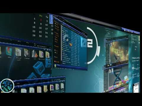 windows 7 theme 3D  FULLY CUSTOMIZED 2011