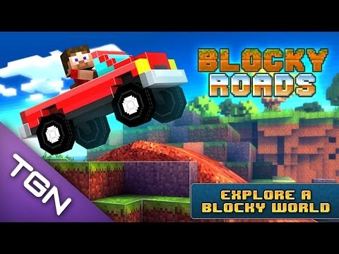 Blocky Roads Entretenido Juego Android Game Play Review Español