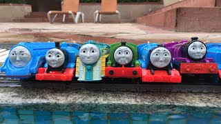 Thomas and Friends Accidents and Crashes Will Happen Playtime at the Pool