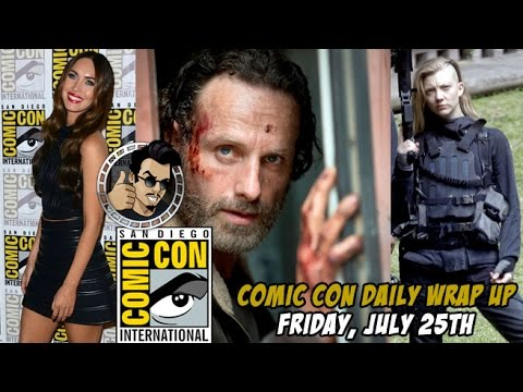 Comic Con 2014 - Top Friday Stories Recap (2014) JoBlo HD