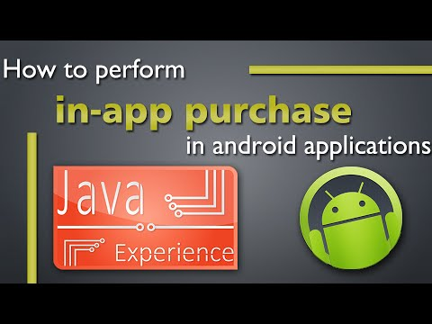 How to perform in-app purchase from android app