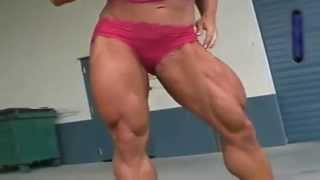 female muscle legs sexy 9
