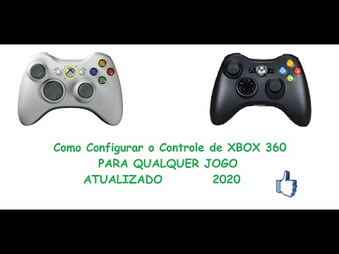 Como Configurar o controle do xbox 360 no PC