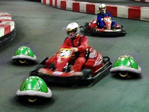 Otro video de Mario Kart en la vida real