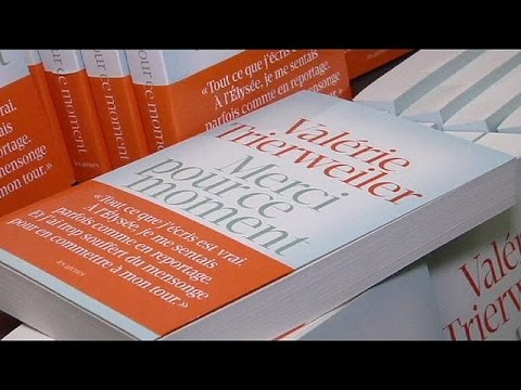 Fransa cumhurbaşkanının özel hayatını konu alan kitap satış rekoru kırdı