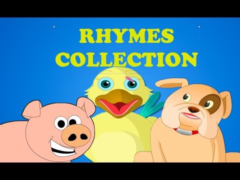 Animal Nursery Rhymes Collection - Medley | 10 Nursery Rhymes For Children video