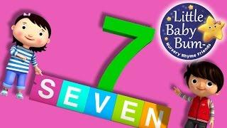 Numbers Song | Number 7 | Nursery Rhymes | Original Song By LittleBabyBum!