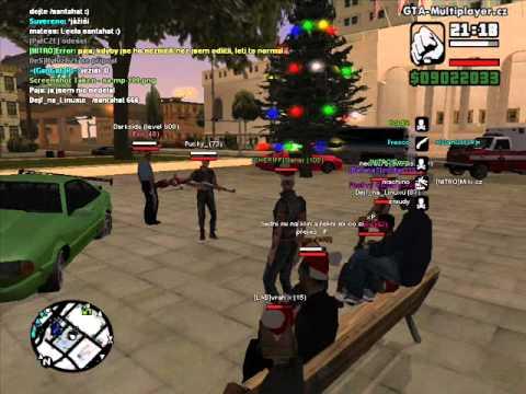 gta san andreas-WTLS-vánoce