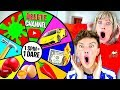 Spinning A MYSTERY Wheel & Doing Whatever It Lands On   Challenge