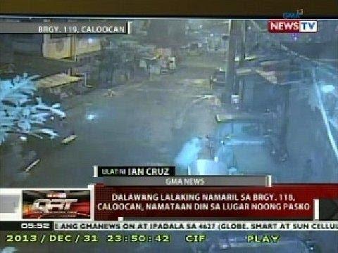 QRT: Dalawang lalaking namaril sa Brgy. 118, Caloocan, namataan din sa lugar noong Pasko